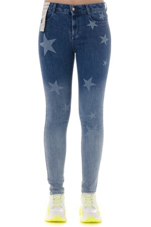 DENIM COTTON SKINNY JEANS WITH STARS SS 2019 STELLA McCARTNEY | 4 | 555914SMH464861
