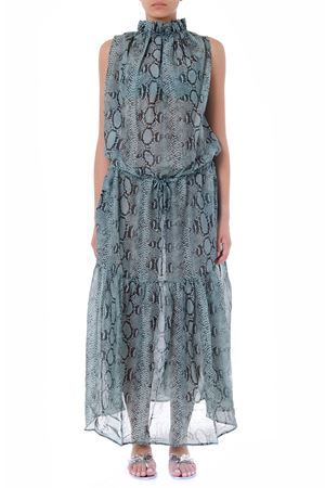 GREY SNAKE PRINTED DRESS FW 2019 STELLA McCARTNEY | 32 | S7AB10430UNI360