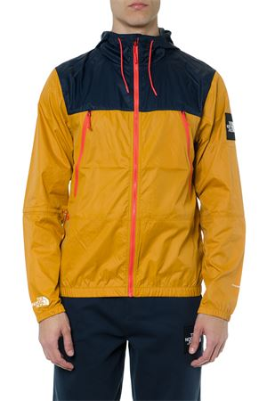 YELLOW & NAVY TECHNICAL FABRIC HOODIE SS 2019 THE NORTH FACE | 27 | T92S4ZB9W1NAVY