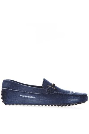 DOUBLE METAL T DENIM LOAFER SS19 TOD
