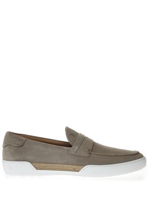BEIGE SUEDE LOAFERS SS 2019 TOD