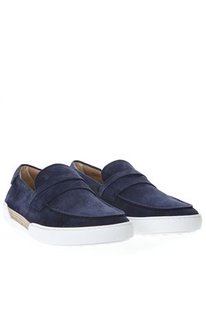 BLUE SUEDE LOAFERS SS 2019 TOD
