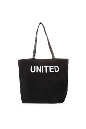BLACK COTTON TOTE BAG WITH LOGO SS19 UNITED STANDARD | 2 | 19SUS-BG021001