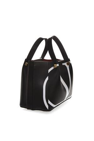 BLACK V LOGO ESCAPE LEATHER BAG SS19 VALENTINO GARAVANI | 2 | RW0B0E00RRXNER