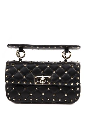 SPIKE SMALL ROCKSTUD BAG IN BLACK NAPPA LEATHER SS 2019 VALENTINO GARAVANI | 2 | RW2B0123NAP0NO