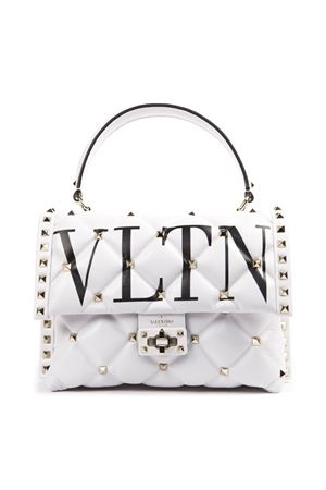 CANDYSTUD WHITE LEATHER BAG SS 2019 VALENTINO GARAVANI | 2 | RW2B0B55XQC0VP