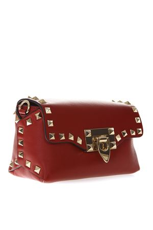 ROCKSTUD MINI RED LEATHER BAG SS19 VALENTINO GARAVANI | 2 | RW2B0C68BOL0R0