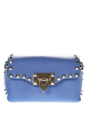 MINI ANGEL BLUE ROCKSTUD CROSSBODY BAG SS 2019 VALENTINO GARAVANI | 2 | RW2B0C68BOLGY7
