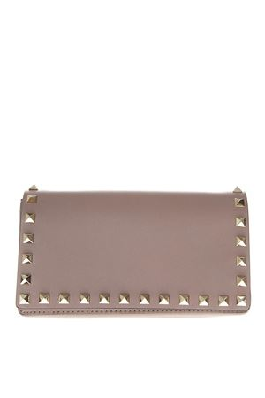 COLOR POWDER LEATHER STUDS CLUTCH SS19 VALENTINO GARAVANI | 2 | RW2P0372BOLP45