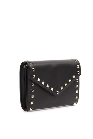 ROCKSTUD BLACK LEATHER BAG SS 2019 VALENTINO GARAVANI | 2 | RW2P0Q48BOL0NO