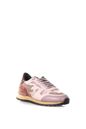 6a48ba126e22 ... ROCKRUNNER PINK SUEDE SNEAKERS SS 2019 VALENTINO GARAVANI