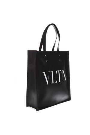 VLTN BLACK LEATHER HAND BAG SS19 VALENTINO GARAVANI | 2 | RY2B0731WJW0NI