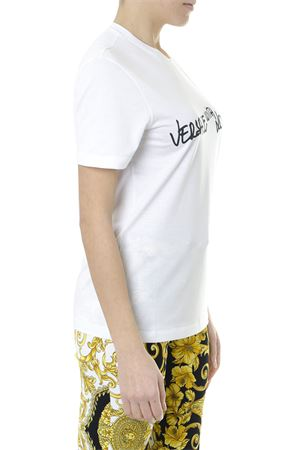 VERSACE WITH LOVE WHITE COTTON T-SHIRT SS2019 VERSACE | 15 | A82300A228806A1001