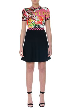 FLORAMANIA PRINTED DRESS PE 2019 VERSACE | 32 | A83024A229571A7000