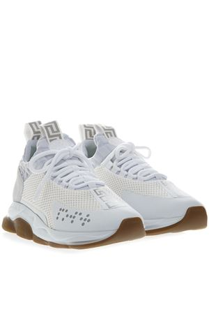 CROSS CHAINER WHITE SNEAKERS SS 2019 VERSACE | 55 | DSU7349D23TGD01