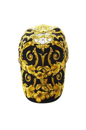 BLACK & GOLD BAROQUE BASEBALL COTTON HAT SS19 VERSACE | 17 | ICAP004IT3081I450