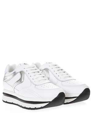 WHITE MARICA LEATHER SNEAKER SS19 VOILE BLANCHE | 55 | MARICA001-2013609-01BIANCO/ARGENTO