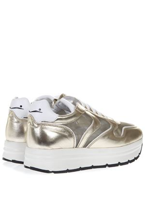 GOLD MAY MESH LEATHER SNEAKER SS19 VOILE BLANCHE | 55 | MAY MESH001-2013506-03PLATINO