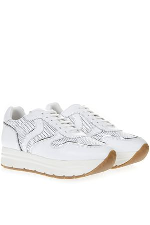 WHITE MAY PERFY LEATHER SNEAKERS SS19 VOILE BLANCHE | 55 | MAY PERFY001-2013823-01BIANCO
