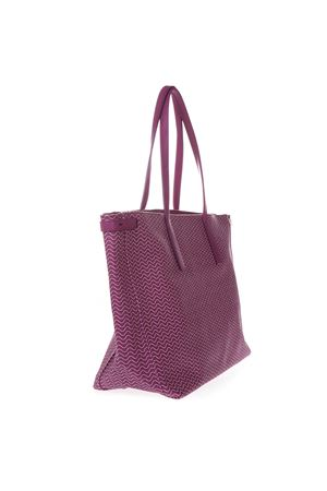 BORSA TOTE DUO GRAND TOUR IN TELA RESINATA COLOR ORCHIDEA SS 2019 ZANELLATO | 2 | ZA38PEL362470118BLANDINEORCHIDEA