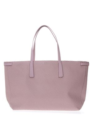 TOTE DUO GRAND TOUR BAG IN PINK RESINED CANVAS SS 2019 ZANELLATO | 2 | ZA38PEL362470143BLANDINECIPRIA
