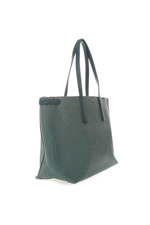 TOTE DUO GRAND TOUR BAG IN GREEN RESINED CANVAS SS 2019 ZANELLATO | 2 | ZA38PEL362470151BLANDINEABETE