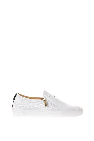 c9889ce88072 PYTHON LEATHER SLIP-ON SNEAKERS SS 2017 GIULIANO GALIANO   55   SLIP ON  MANPYTHONWHITE ...