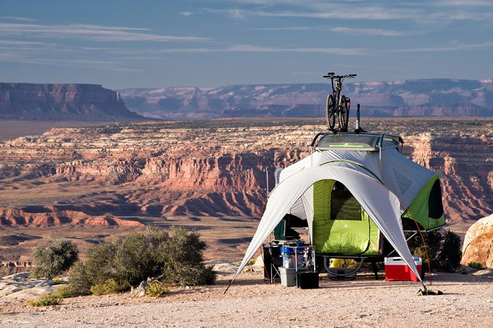 SylvanSport GO pop-up tent camper trailer