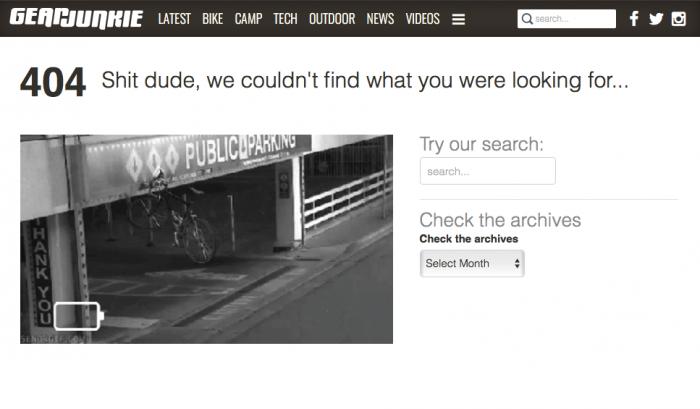 GJ 404 Error Page full
