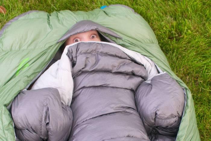 369fc636845 Not A Mummy  Zipper-less Design Offers New Sleeping Bag Experience