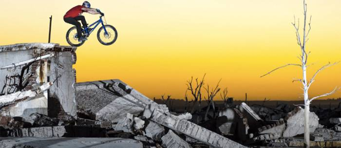 Danny MacAskill Bikes Through 'Villa Epecuén' Wasteland