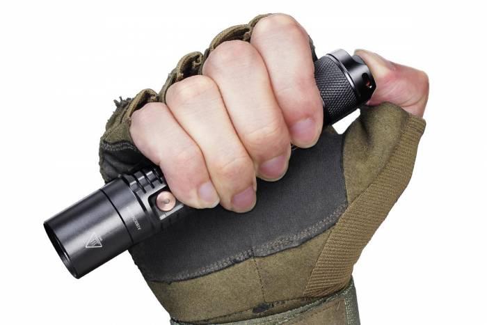 Fenix-UC35V2-Recahrgeable-Flashlight-size