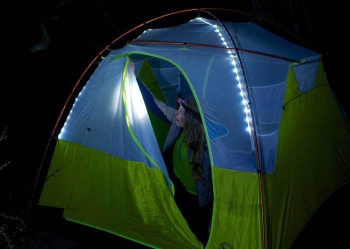Big Agnes mtnGLO Tent