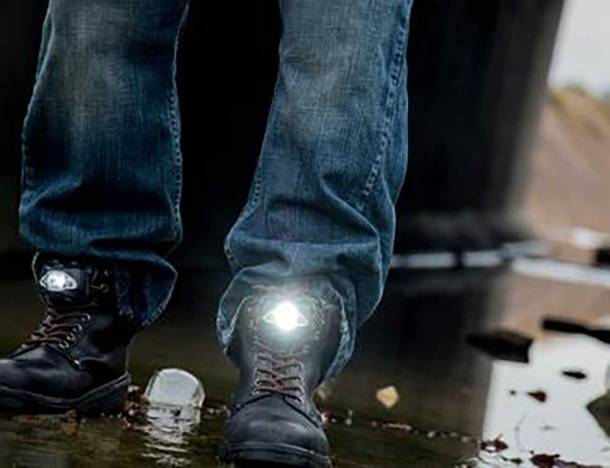 Led Boots Light The Way Gearjunkie