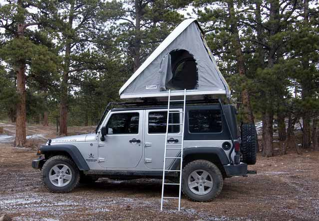 Off The Grid Rentals Roof top tent rental