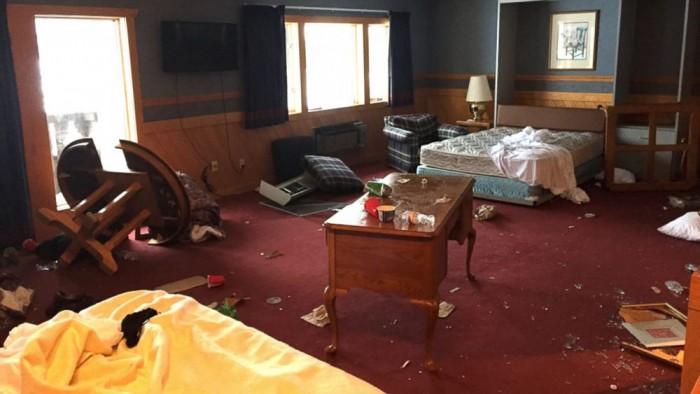 UM ski resort damage