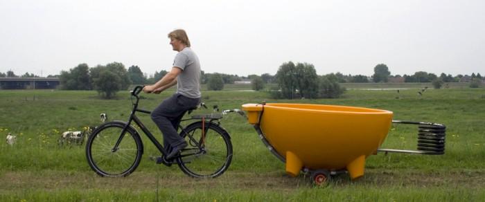 hot tub bike