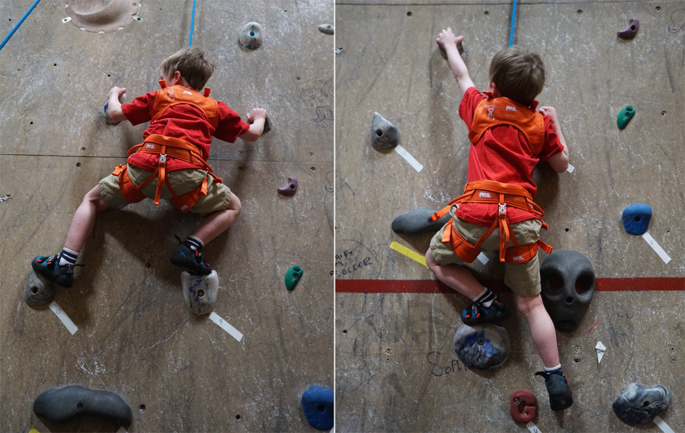 petzl kid climbing harness