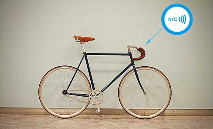 nfc chip in bike