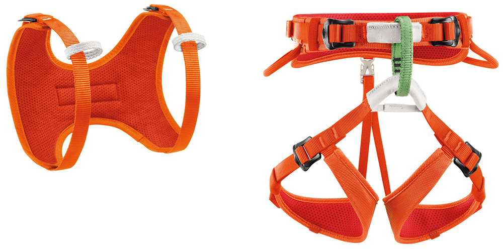 petzl kid climbing harness system
