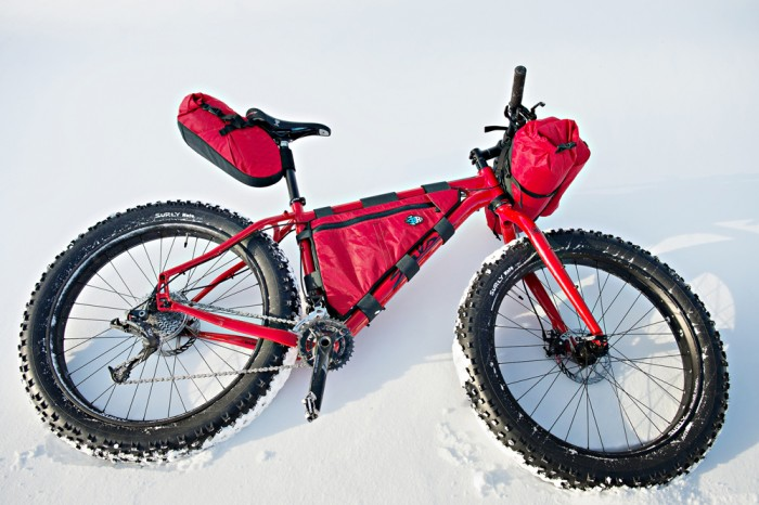 Porcelain Rocket Red-out Kit for Salsa Mukluk
