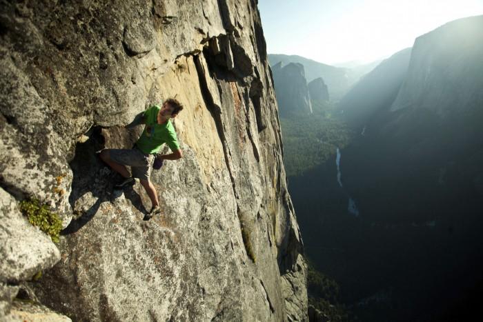 Honnold Climbing