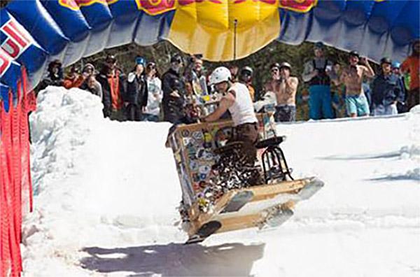 Red-Bull-'Schlittentag'-Race