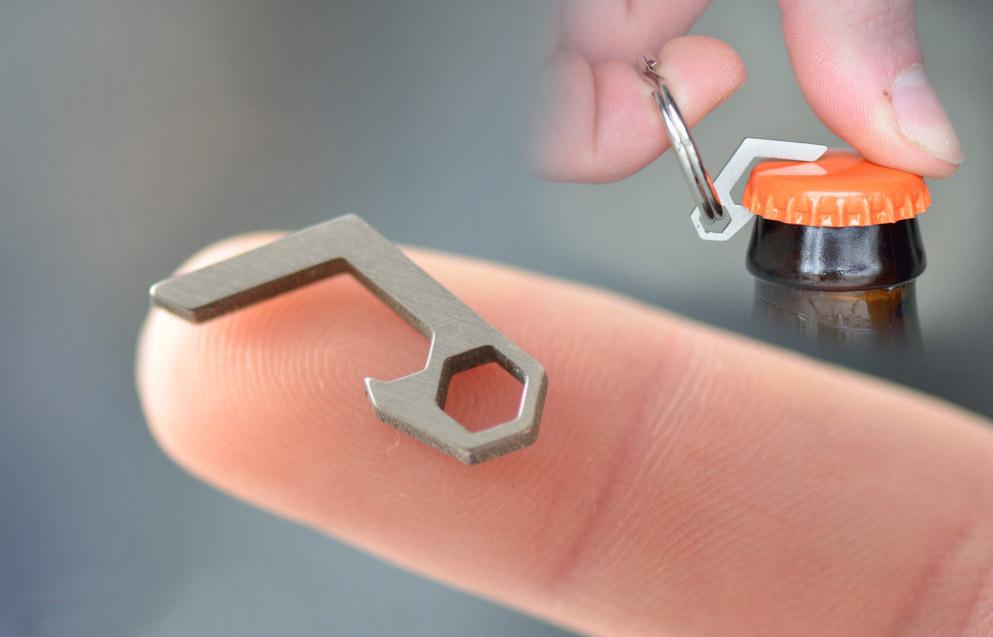 World's Smallest Bottle Opener