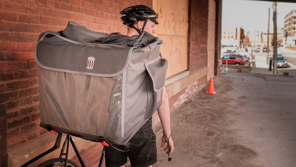 Made In Minneapolis Trash Bags Mega Messenger Pack