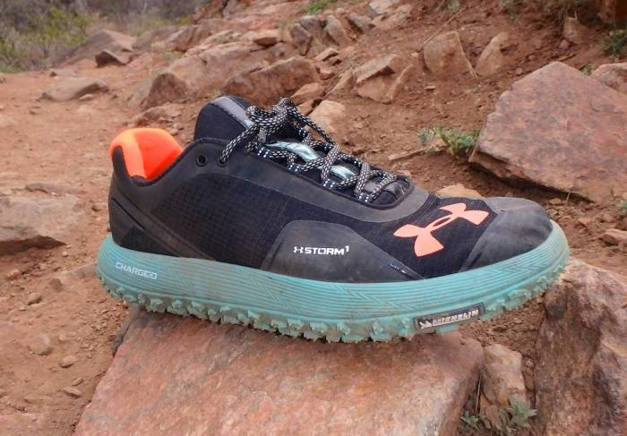 Under Armour Speed Tire Ascent Low Men S Trail Running Shoes