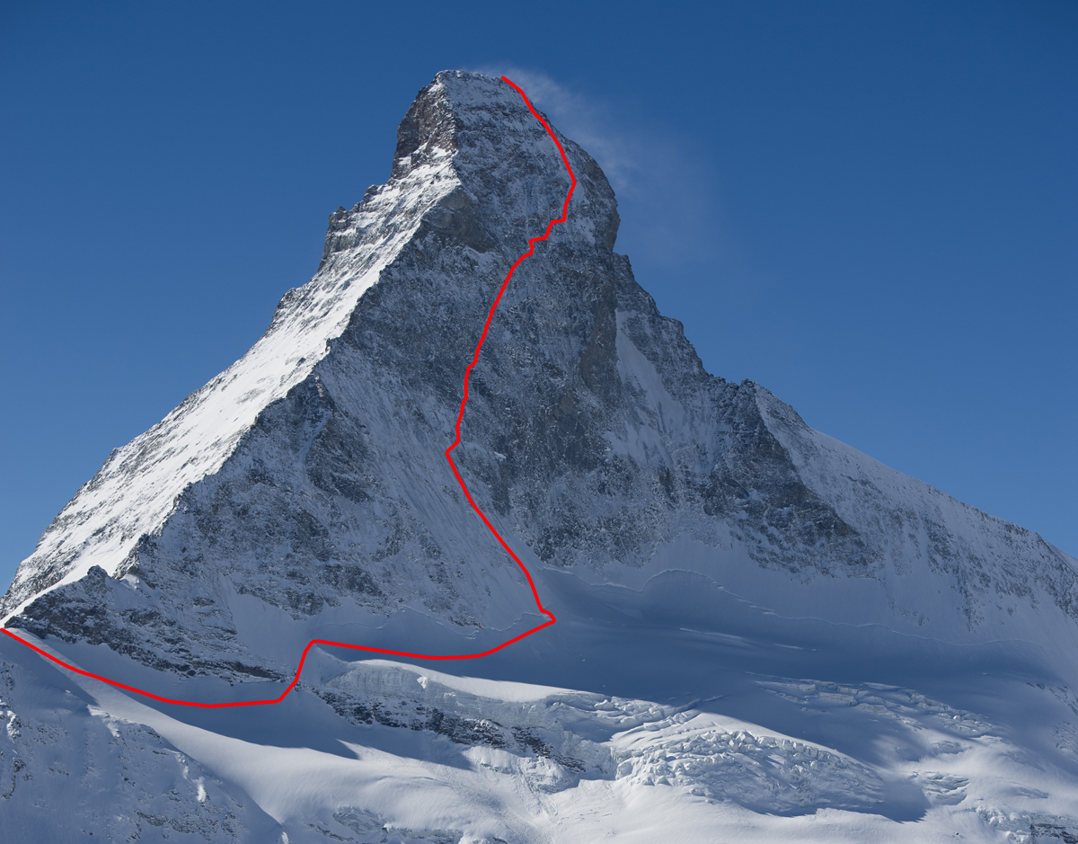 Matterhorn Speed Record Set Gearjunkie