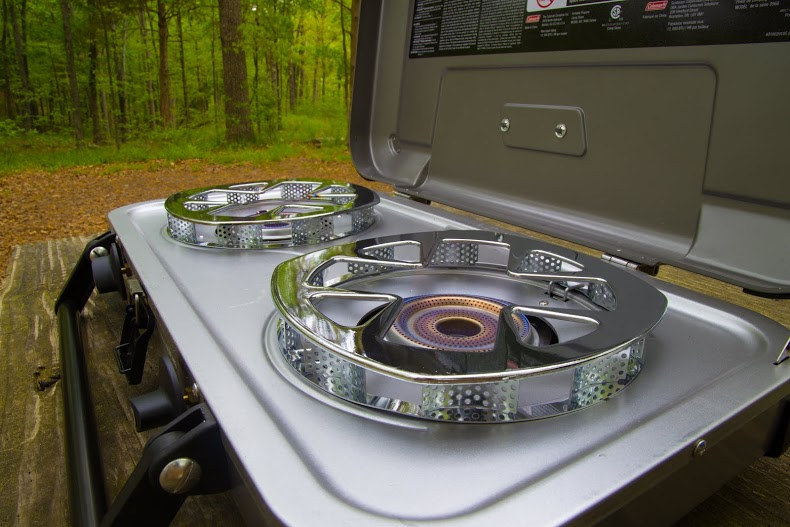 Cook Off Fyre Champion Camp Stove Test