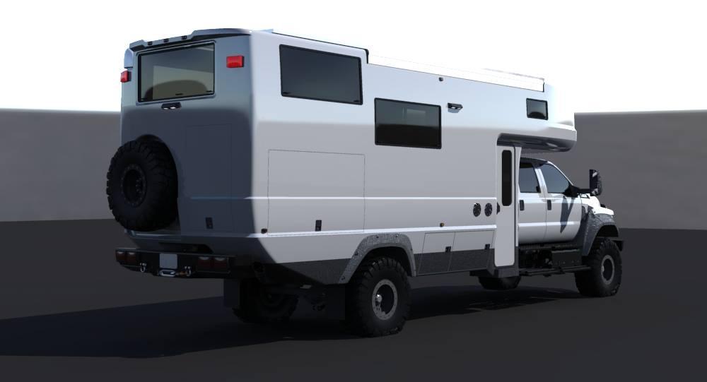 EarthRoamer XV HD Bigger Badder Off Road Camper