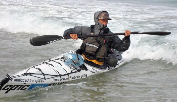 freya solo kayaker